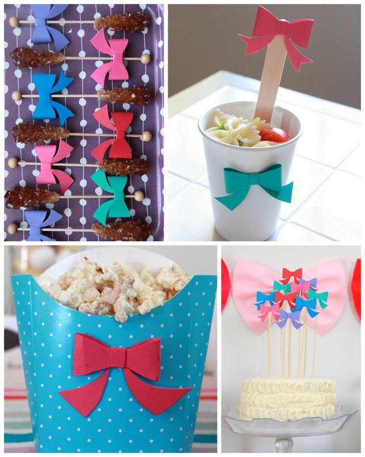bow party menu
