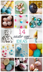 Easter egg decorating ideas at kojodesigns