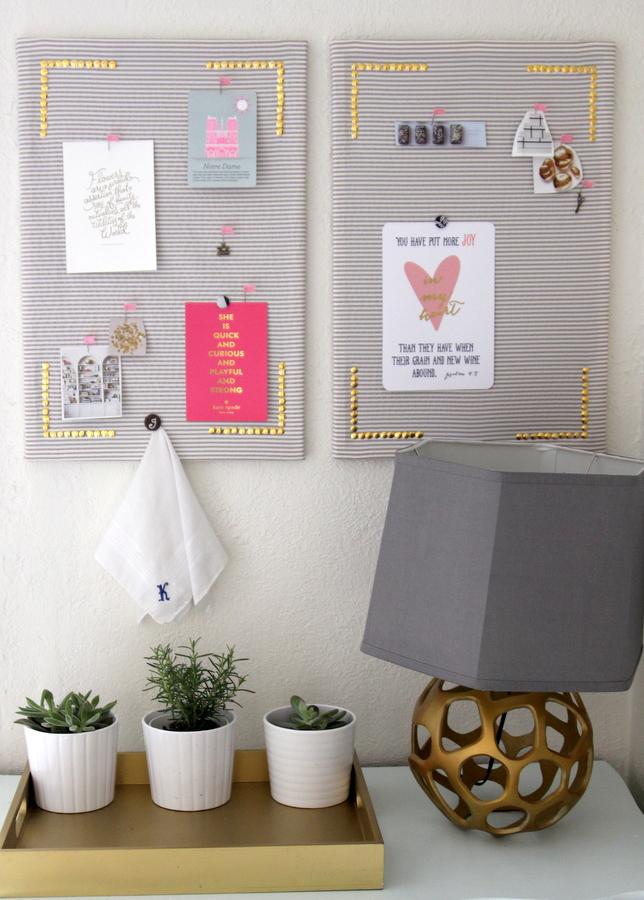 DIY inspiration board tutorial