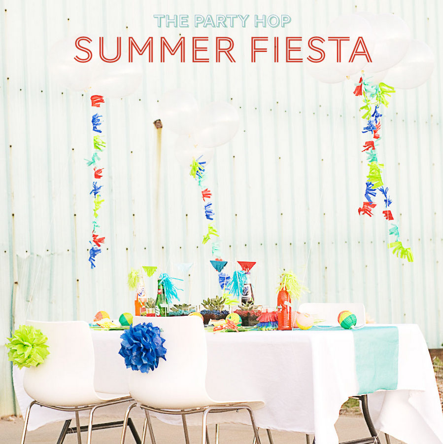 modern bright summer fiesta