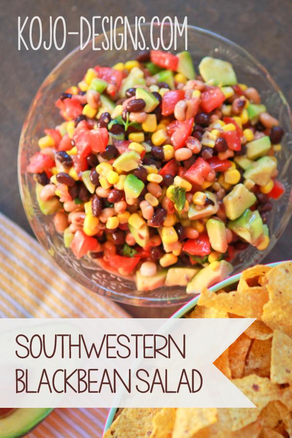 super salads- southwestern black bean salad