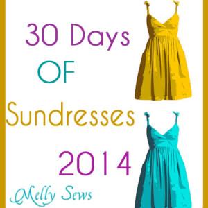 30 days of sundresses series