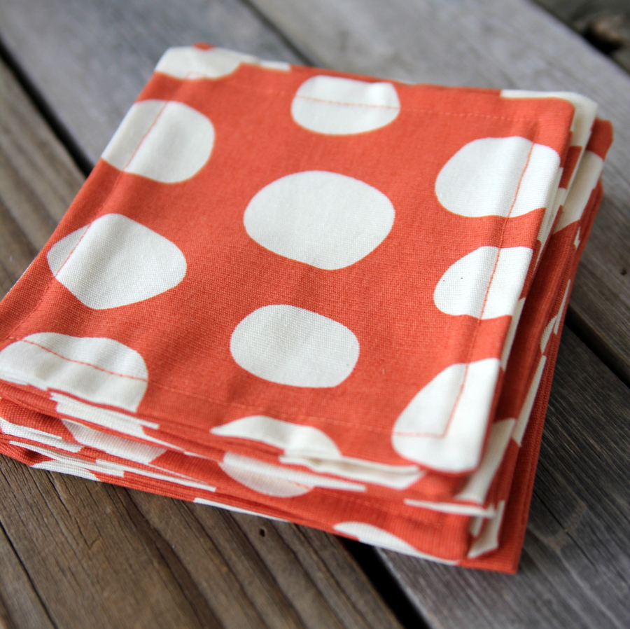 DIY cocktail napkins