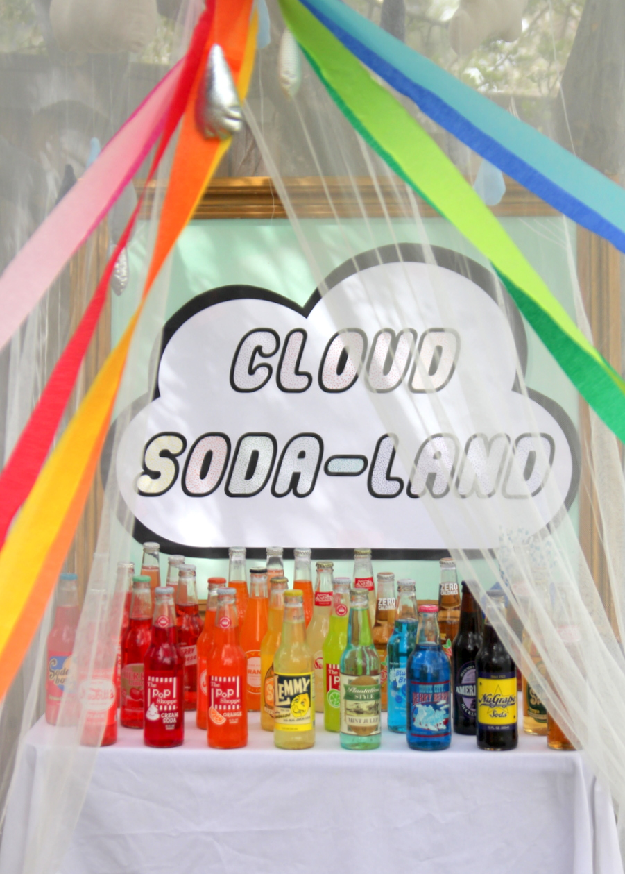 Lego birthday party- Cloud Soda Land (an easy way to incorporate the Lego Movie into a Lego party)