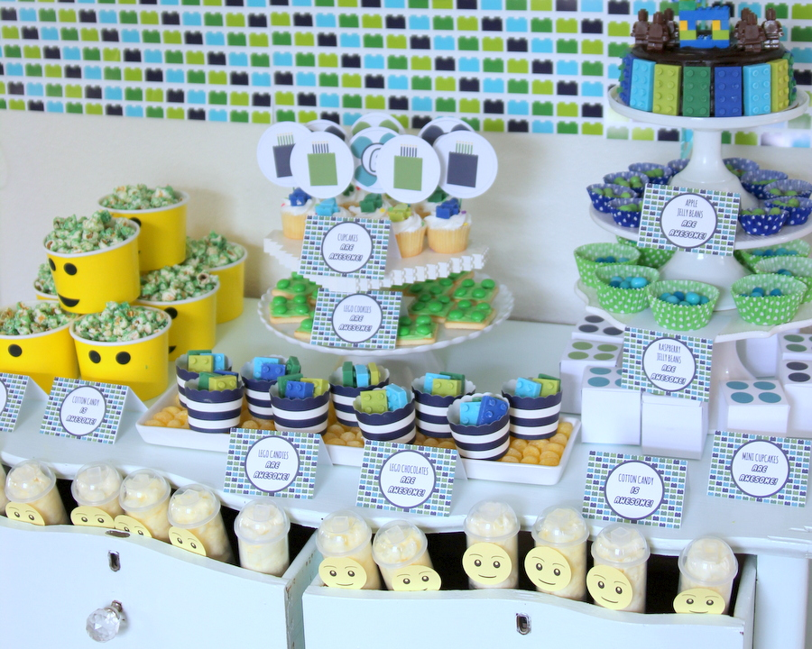 Lego birthday party food ideas