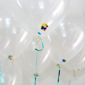 lego filled balloons
