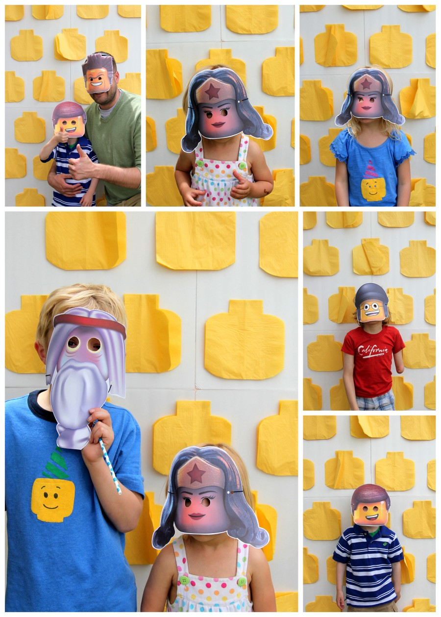 lego party master builder photo booth