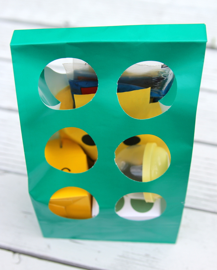 Lego birthday party favor ideas