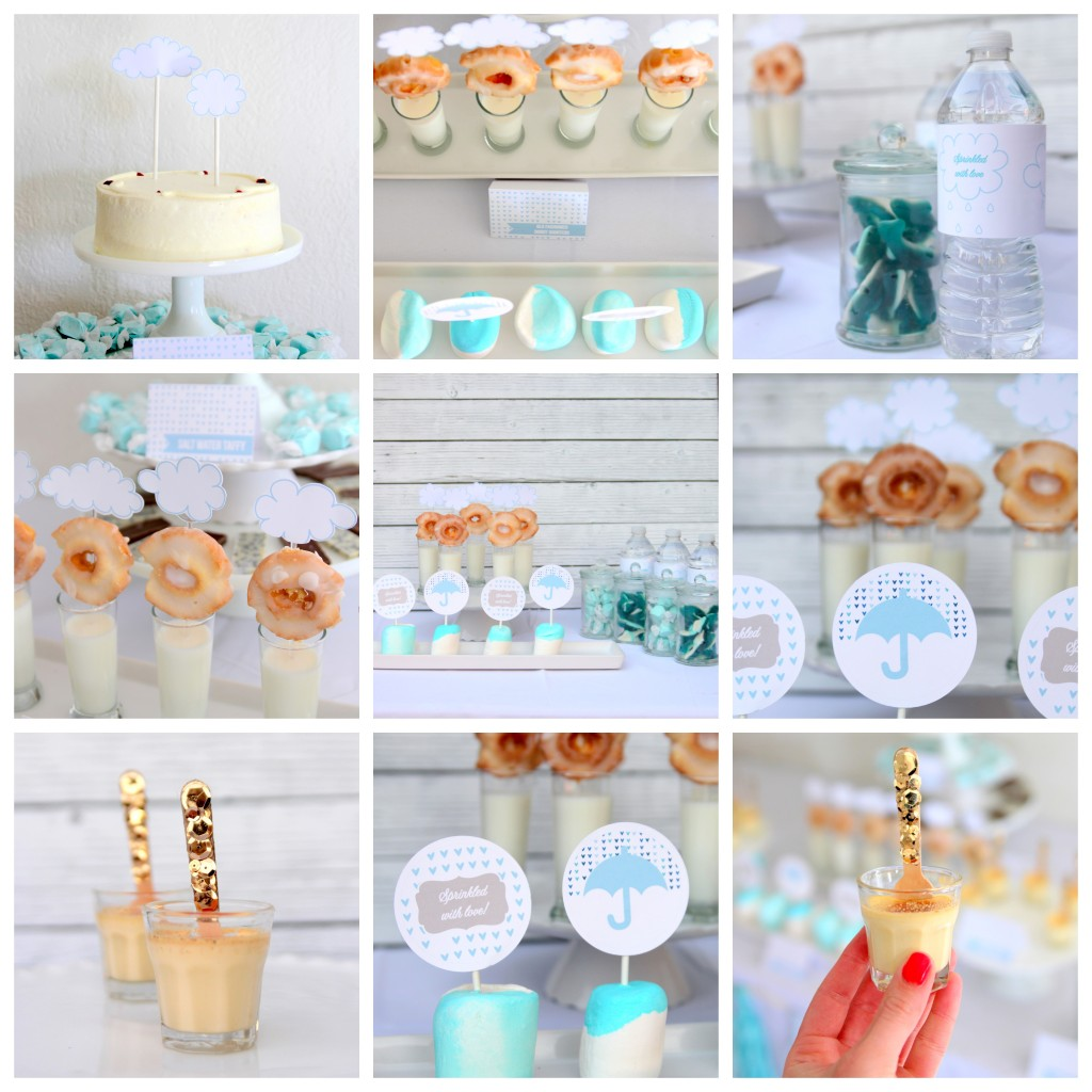 sprinkled with love baby shower menu ideas
