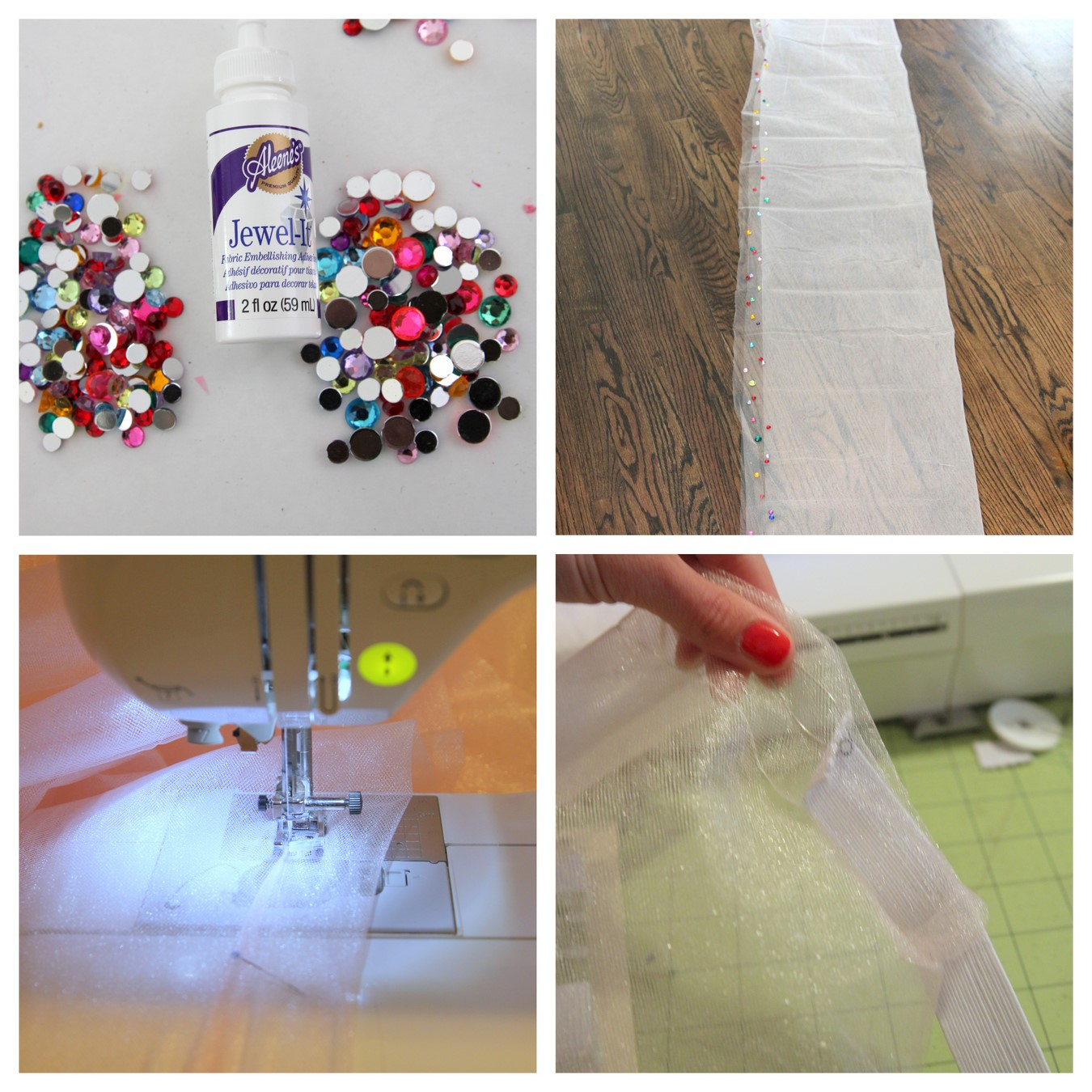 how to make a sparkly tutu