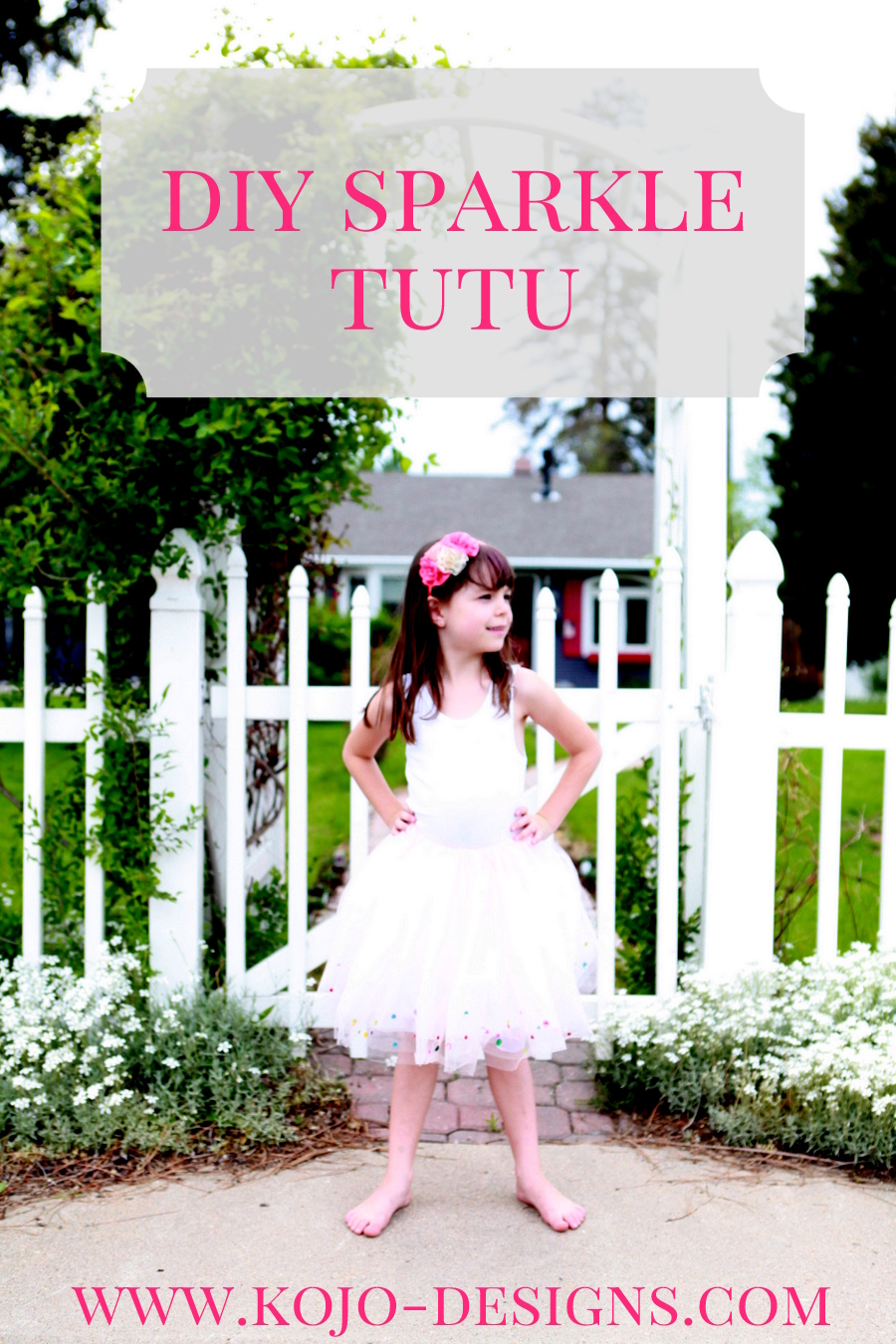how to make a sparkly confetti tutu