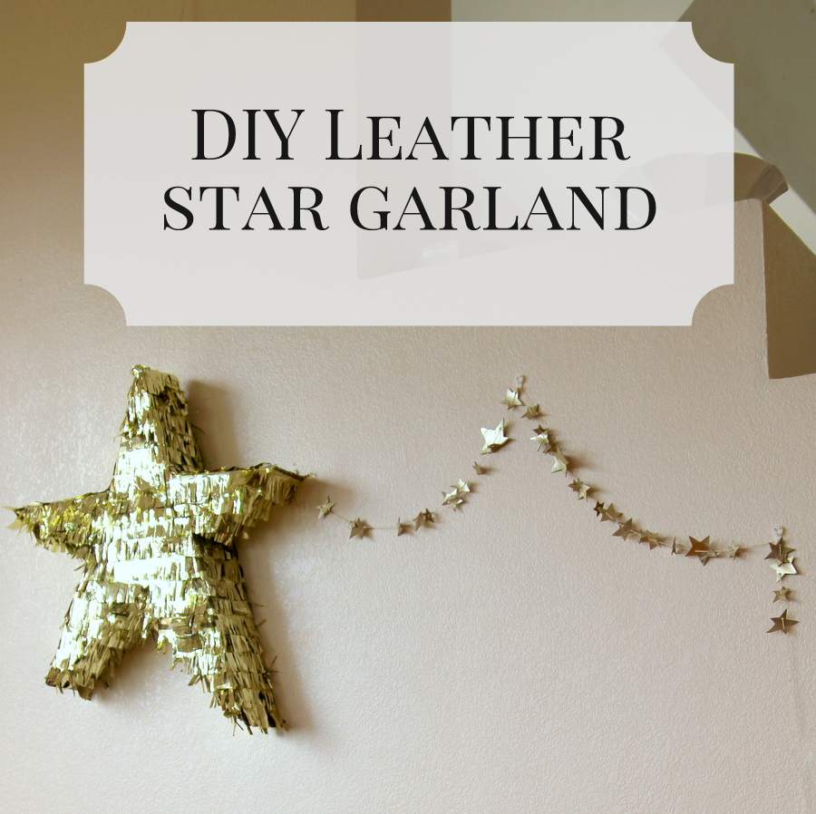 the perfect star garland