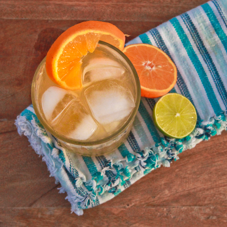 iced citrus white tea