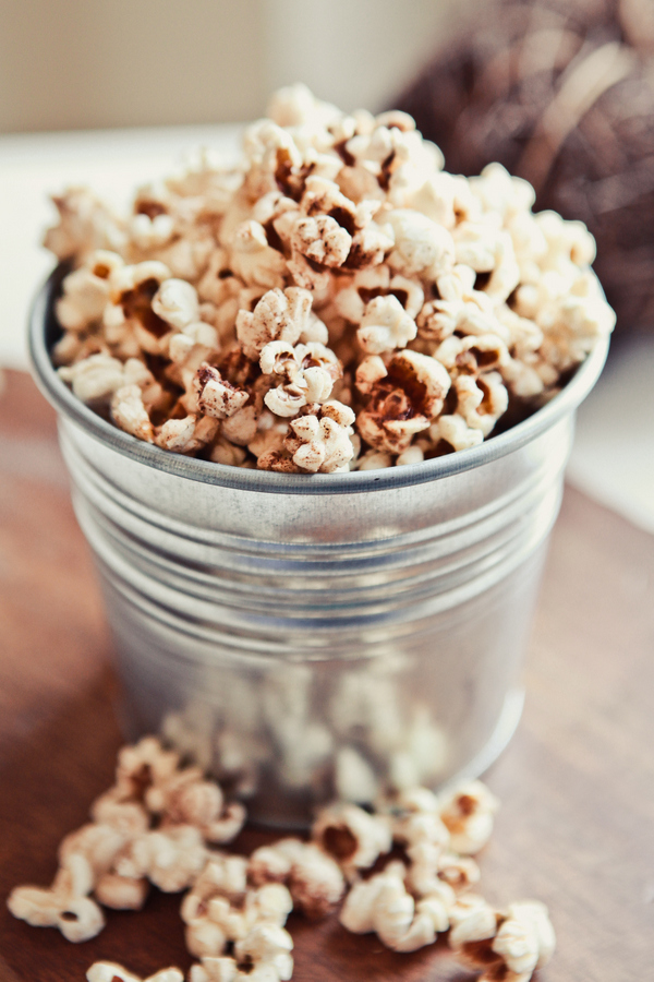 harvest popcorn, perfect for fall!