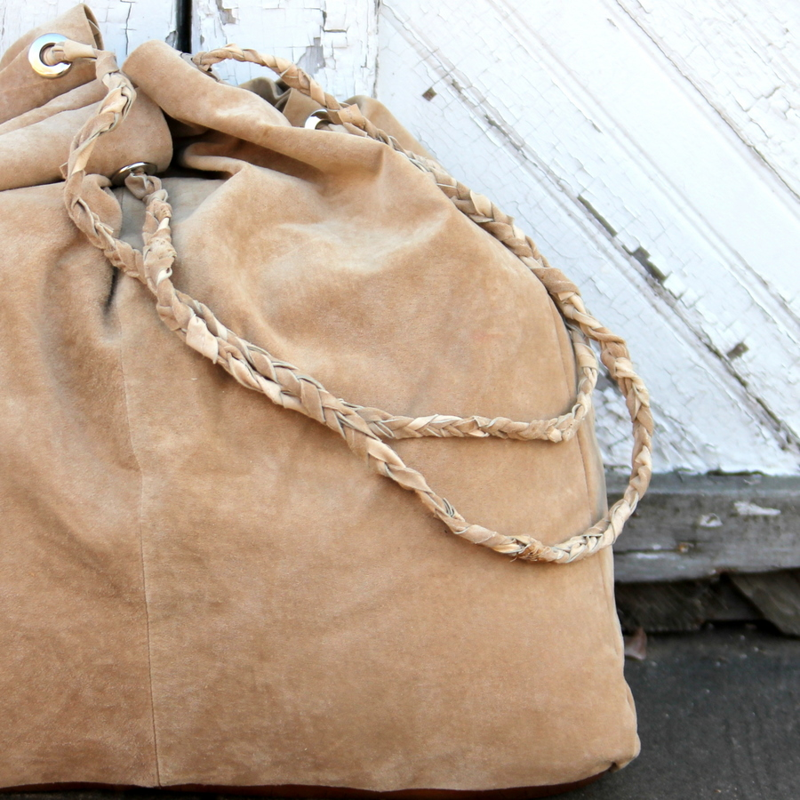 how to make a slouchy leather tote