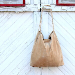 make a simple leather tote