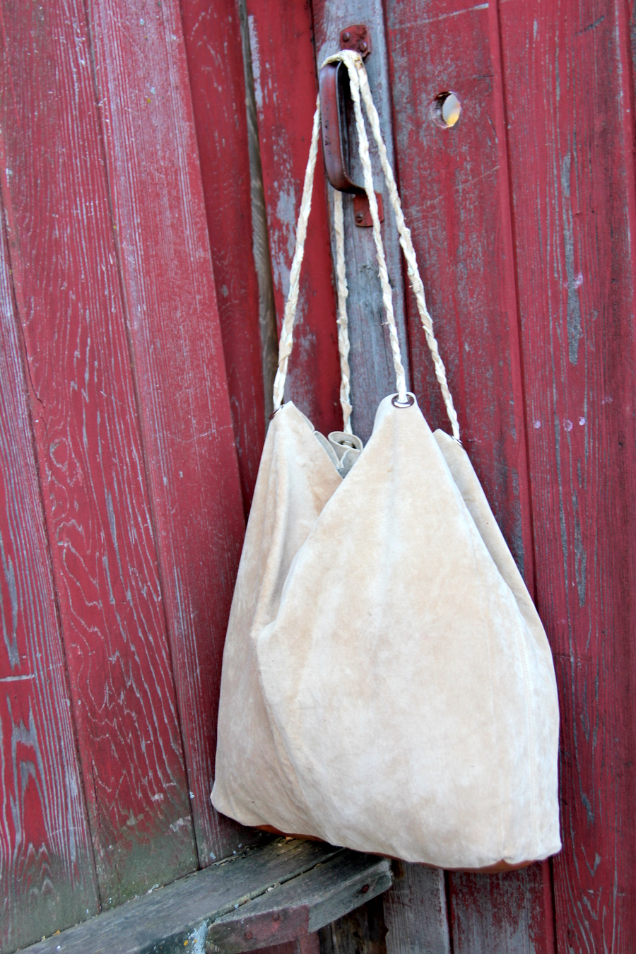 easiest ever leather tote