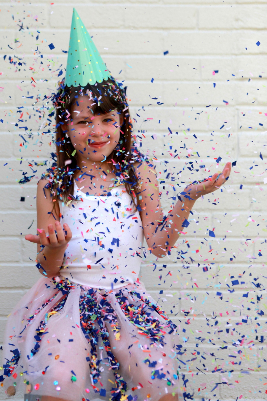 how to make a sparkly, confetti tutu