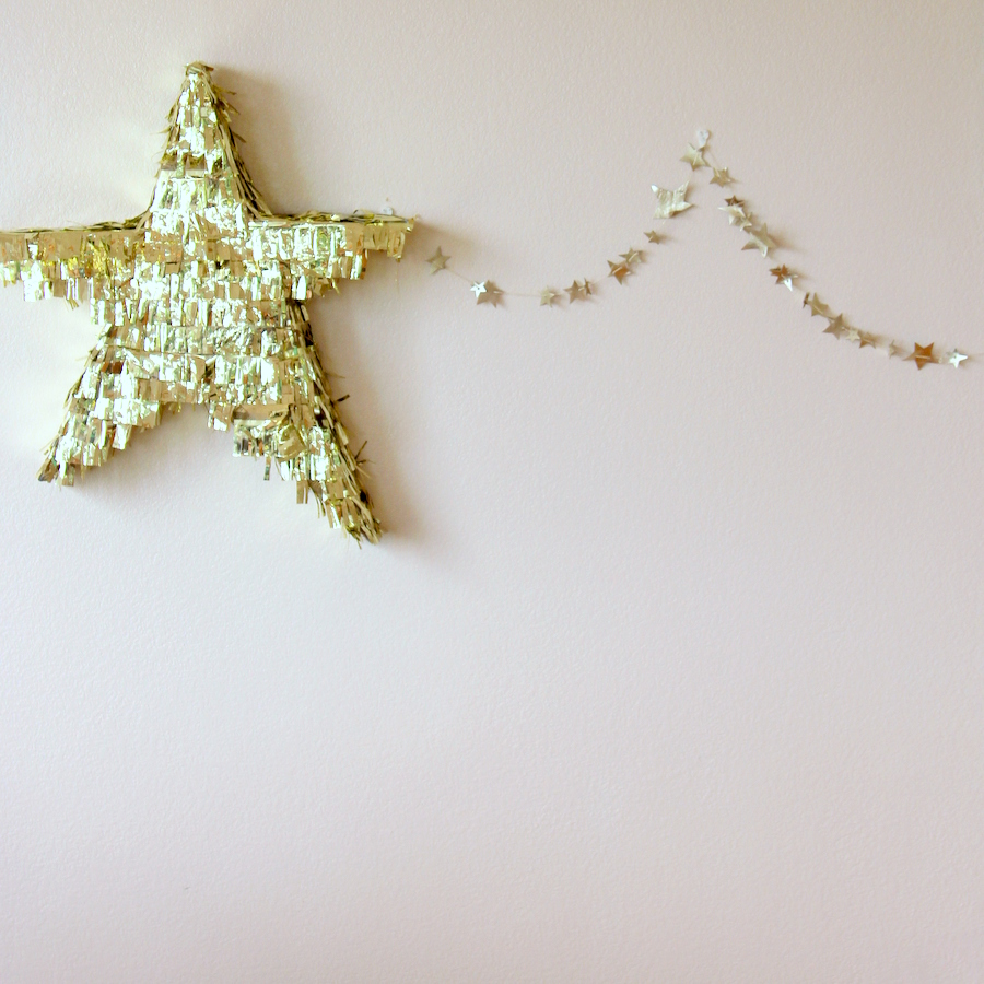 fringed star piñata