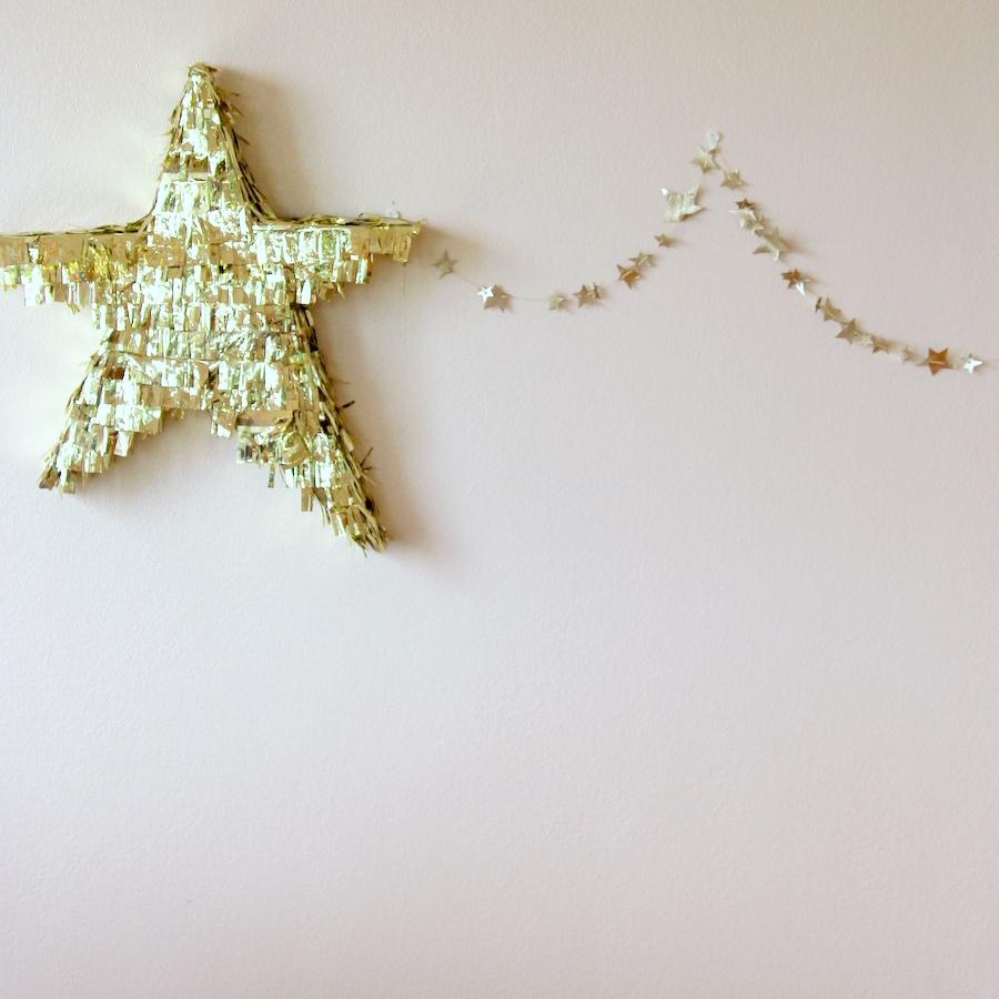 fringed star piñata