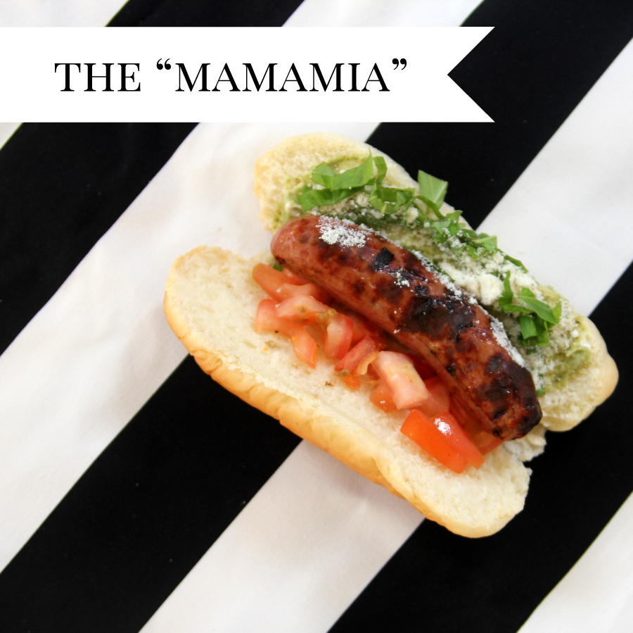 gourmet hot dog ideas- the mamamia