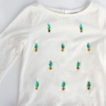 easy pineapple shirt how to