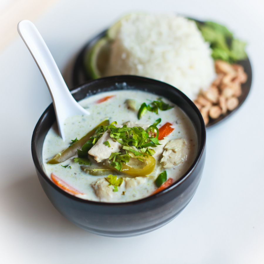 super simple thai green curry