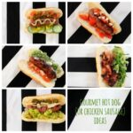 gourmet hot dog and chicken sausage ideas