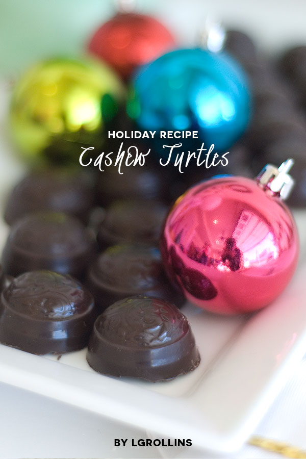 season to sparkle party hop- fancy glam cashew turtles