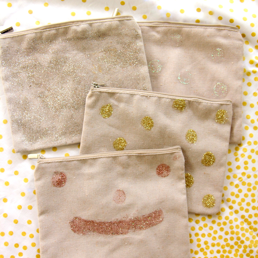 sparkle party favor bags