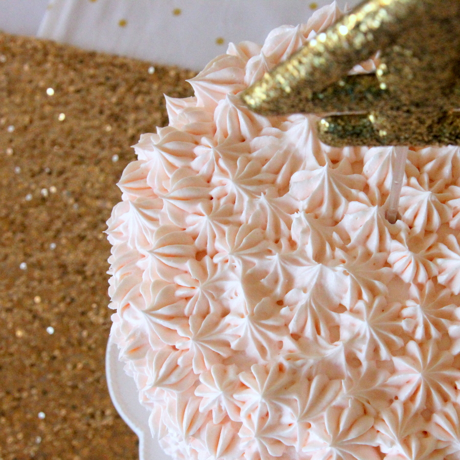 sparkle party cake