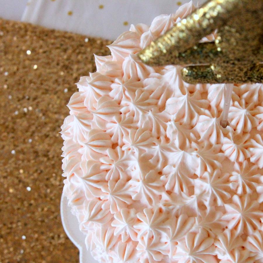 sparkle party cake