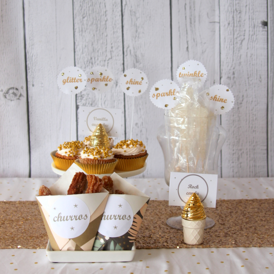 sparkle and glitter party ideas