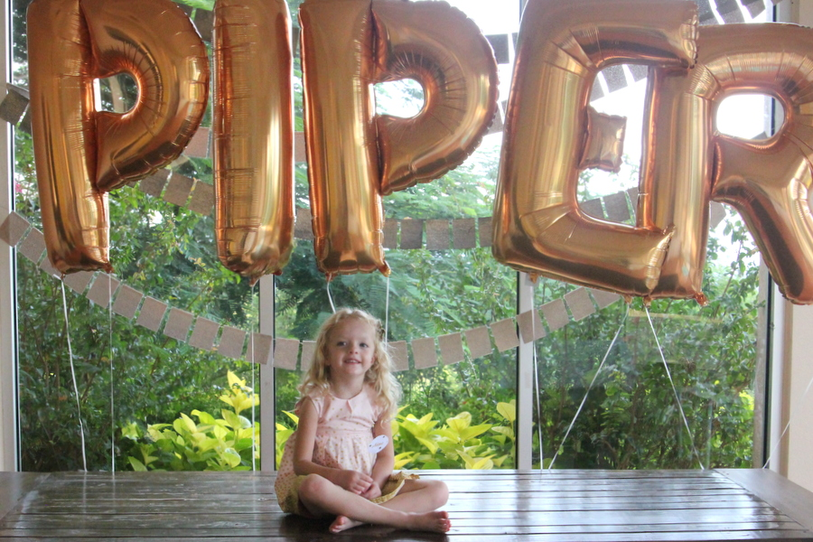 glitter party mylar balloons