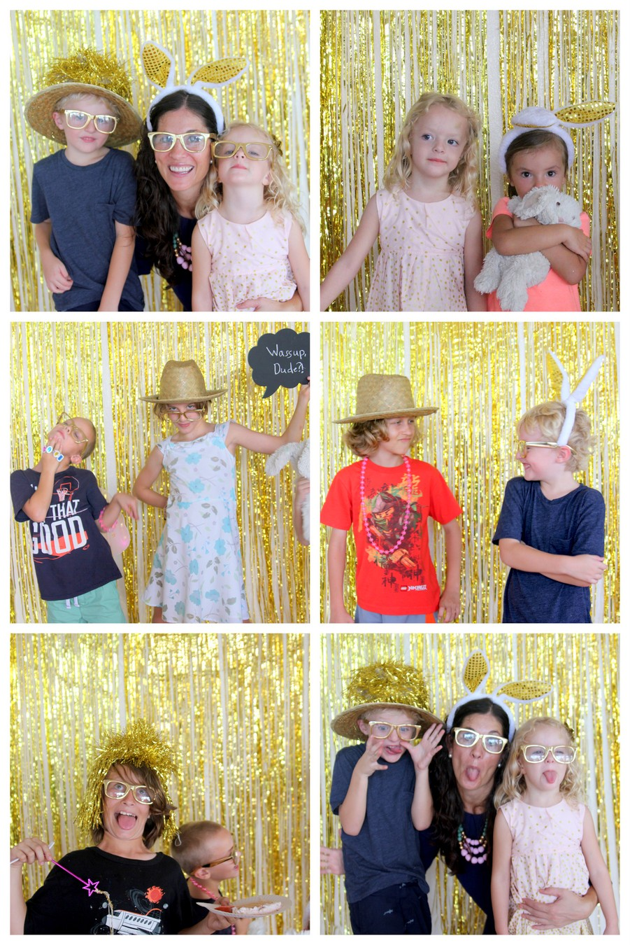 sparkle party photo booth