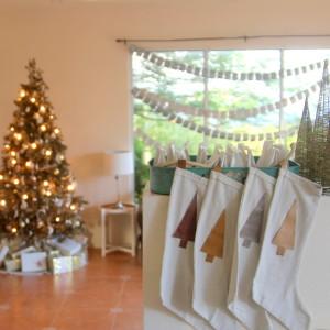 DIY christmas stockings (easiest ever!)