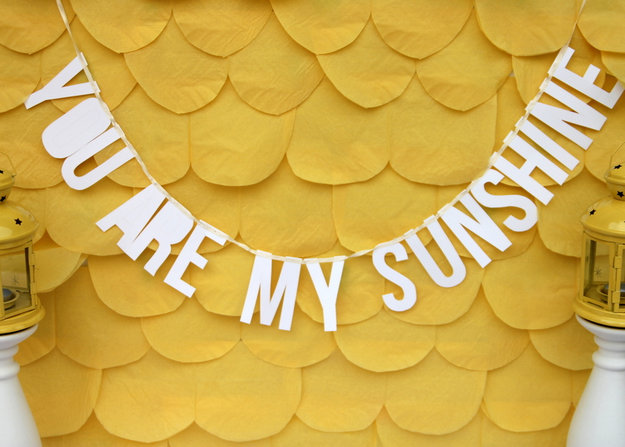 you are my sunshine baby shower and some cheerful baby shower ideas