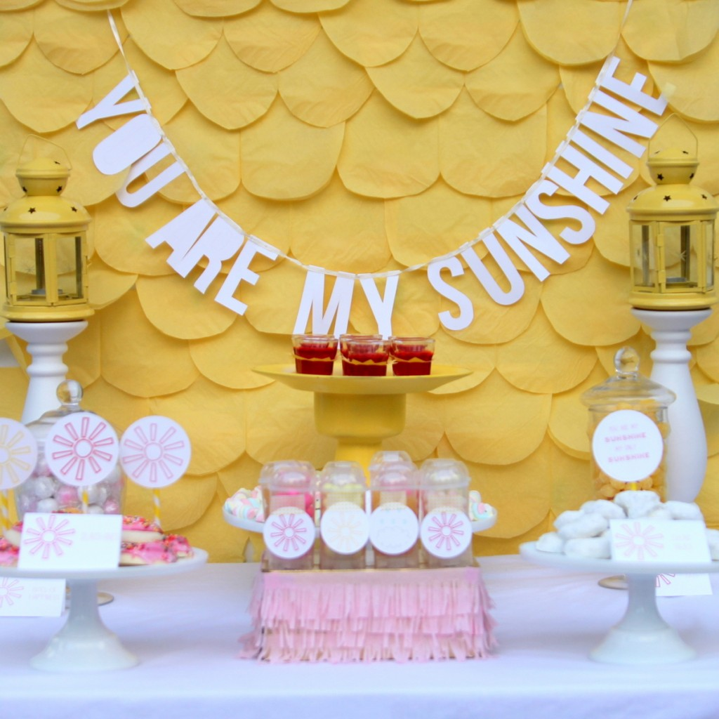 You are my sunshine baby shower and some cheerful baby shower ideas you are my sunshine shower and a bunch of cheerful spring baby shower ideas amipublicfo Gallery