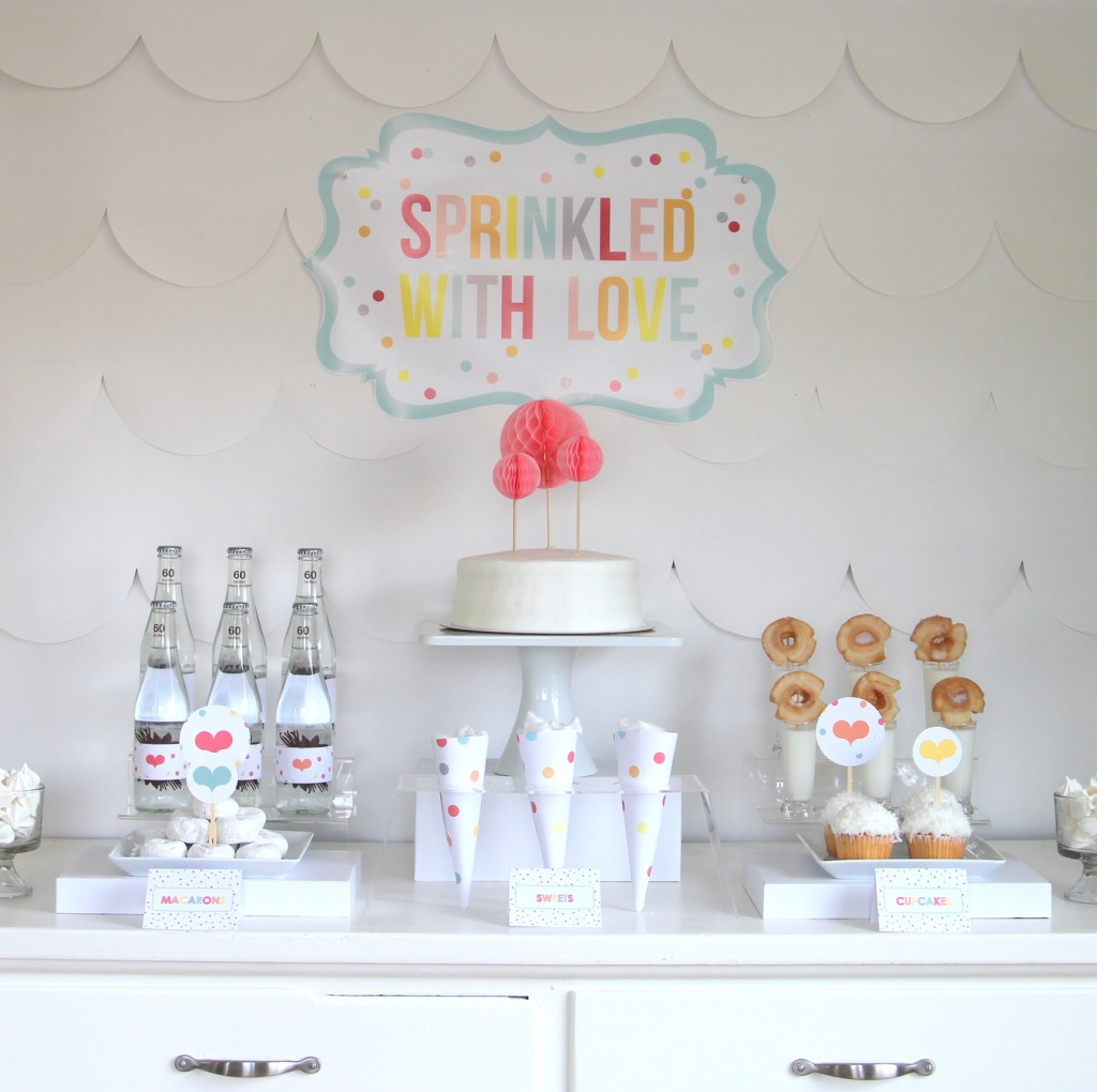 sprinkle party printables