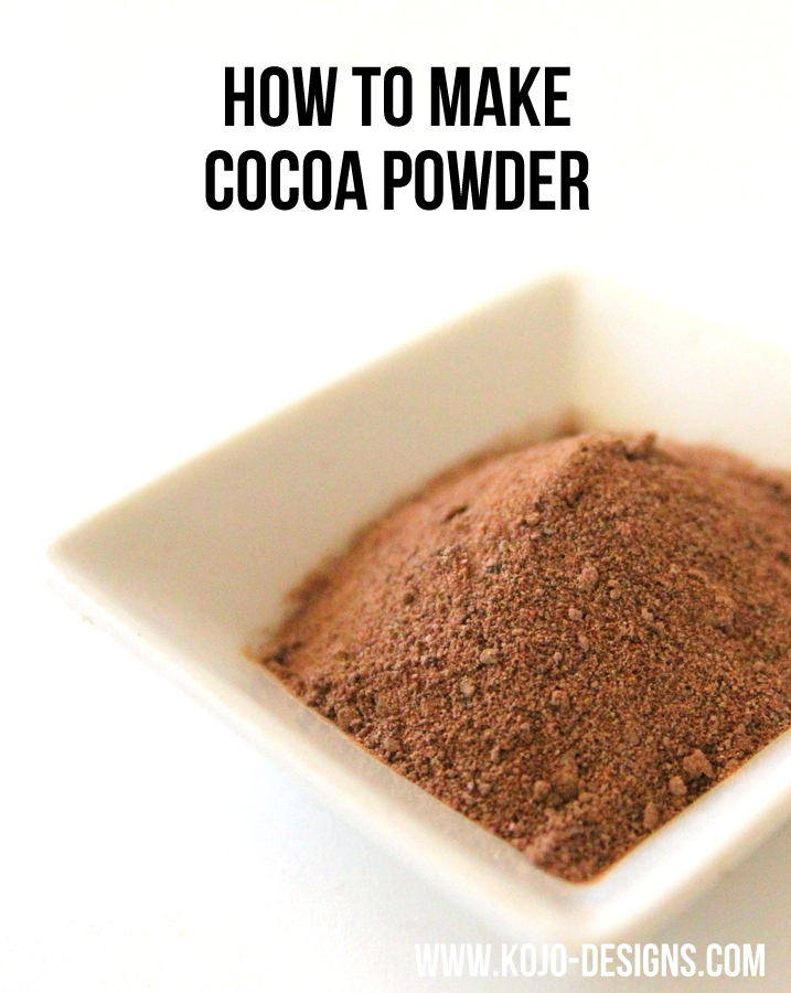 Home Made Chocolate Grinder