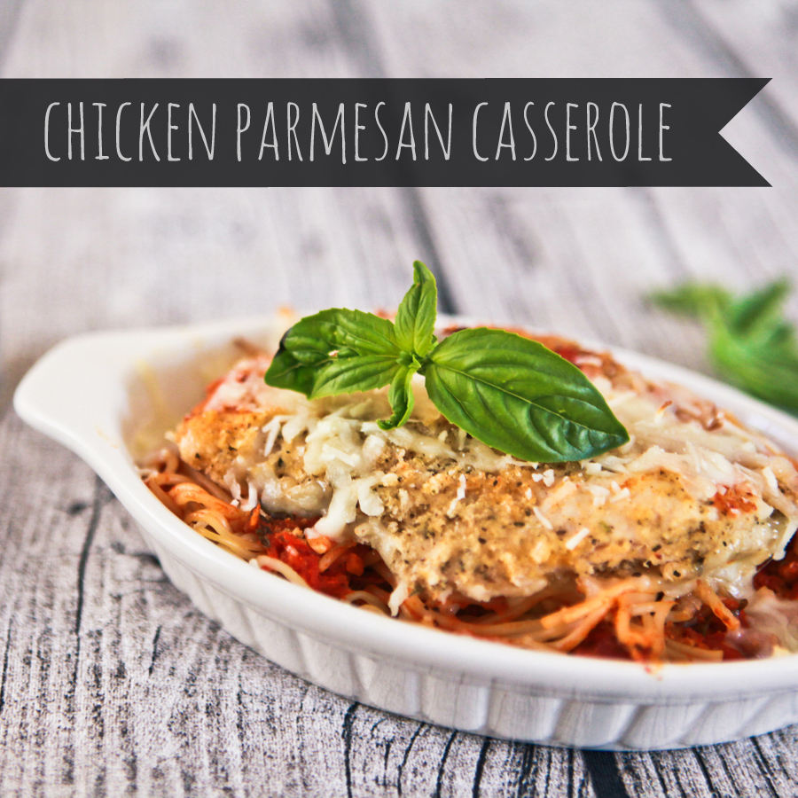 freezer cooking chicken parmesan casserole