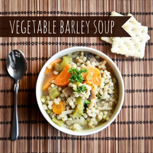 freezer cooking vegetable barley soup