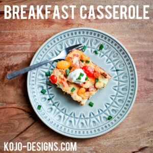 the yummiest make ahead breakfast casserole