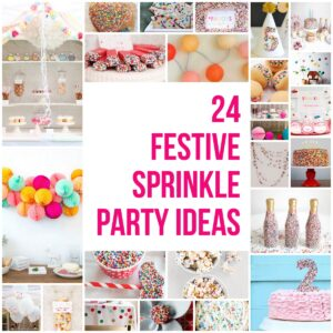 party theme ideas- 24 sprinkled with love party ideas
