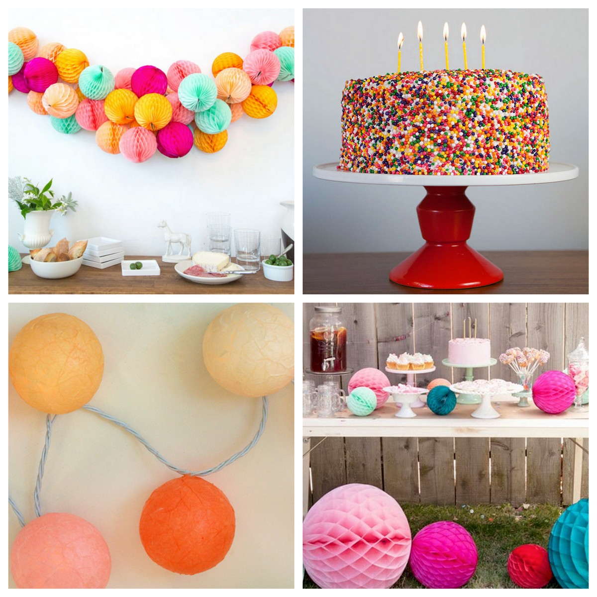 party themes- 24 sprinkled with love party ideas