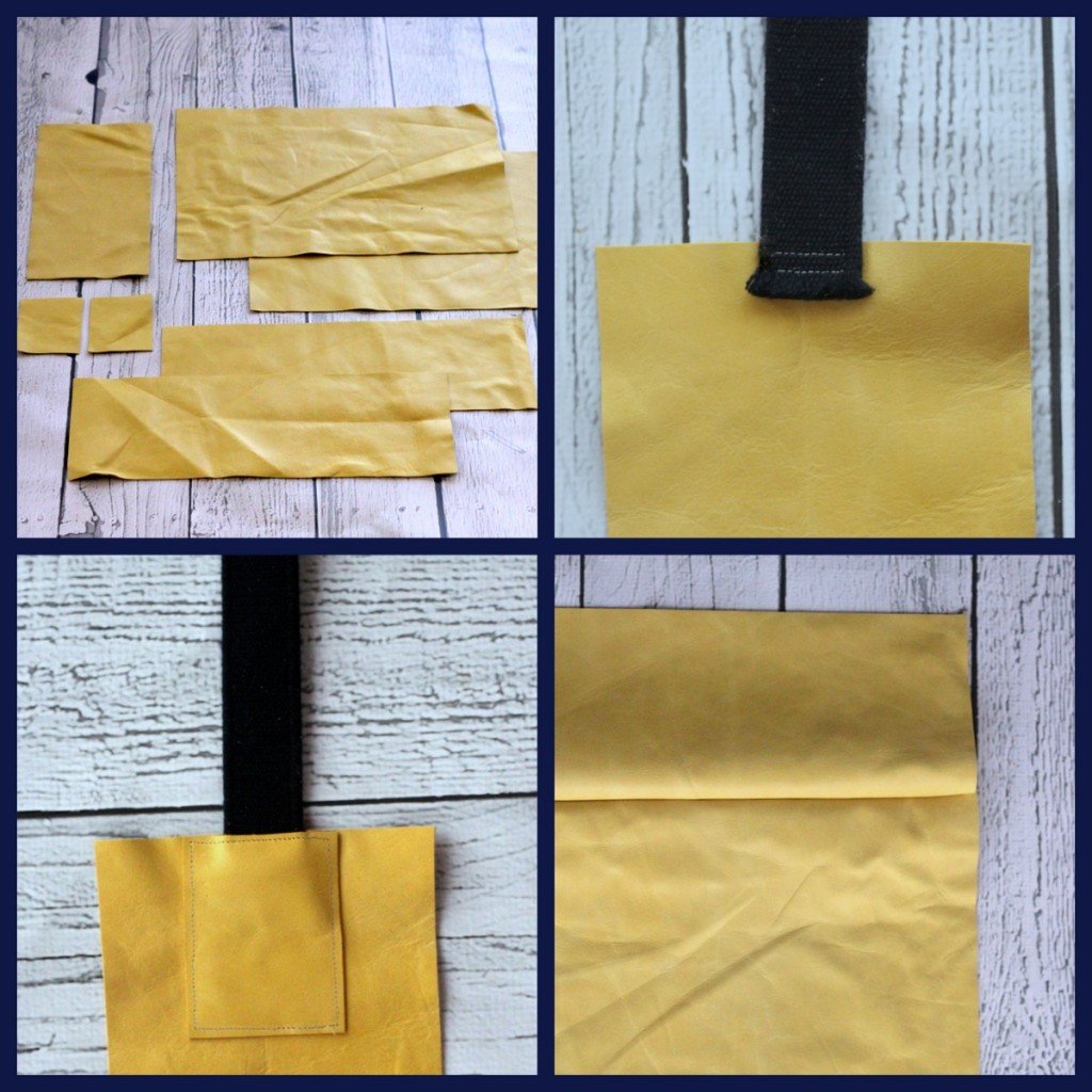 Take an already simple project and make it even simpler-  this DIY leather tote with uses a belt as the buckle. Sew one up in less than 30 minutes.