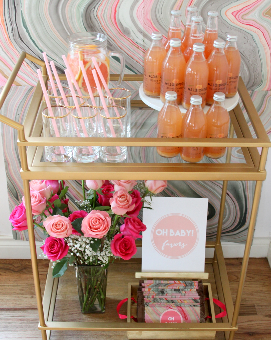 """how to put together the easiest ever baby shower (aka the """"2 hour shower"""")"""