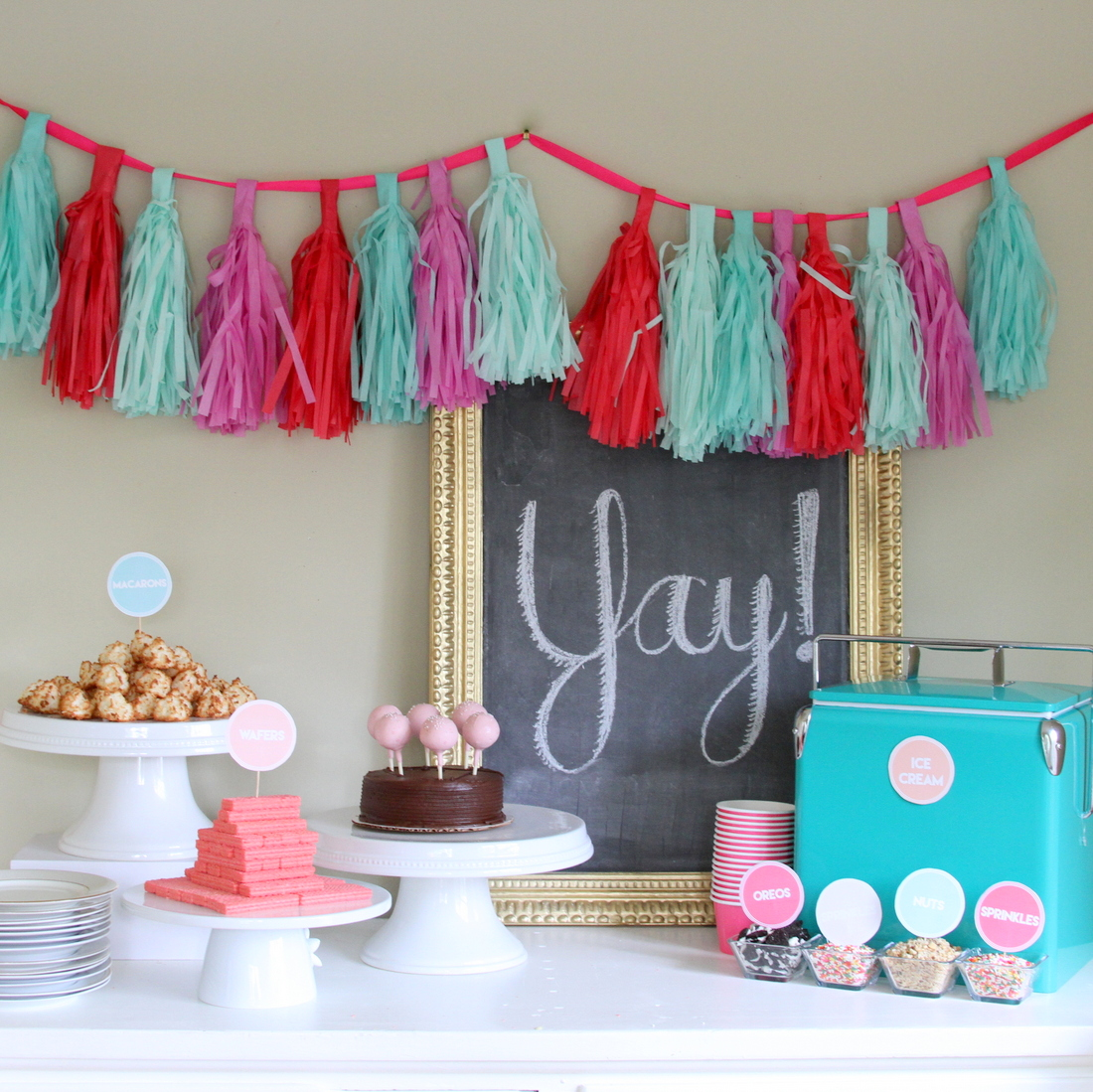 "how to put together the easiest ever baby shower (aka the ""2 hour shower"")"