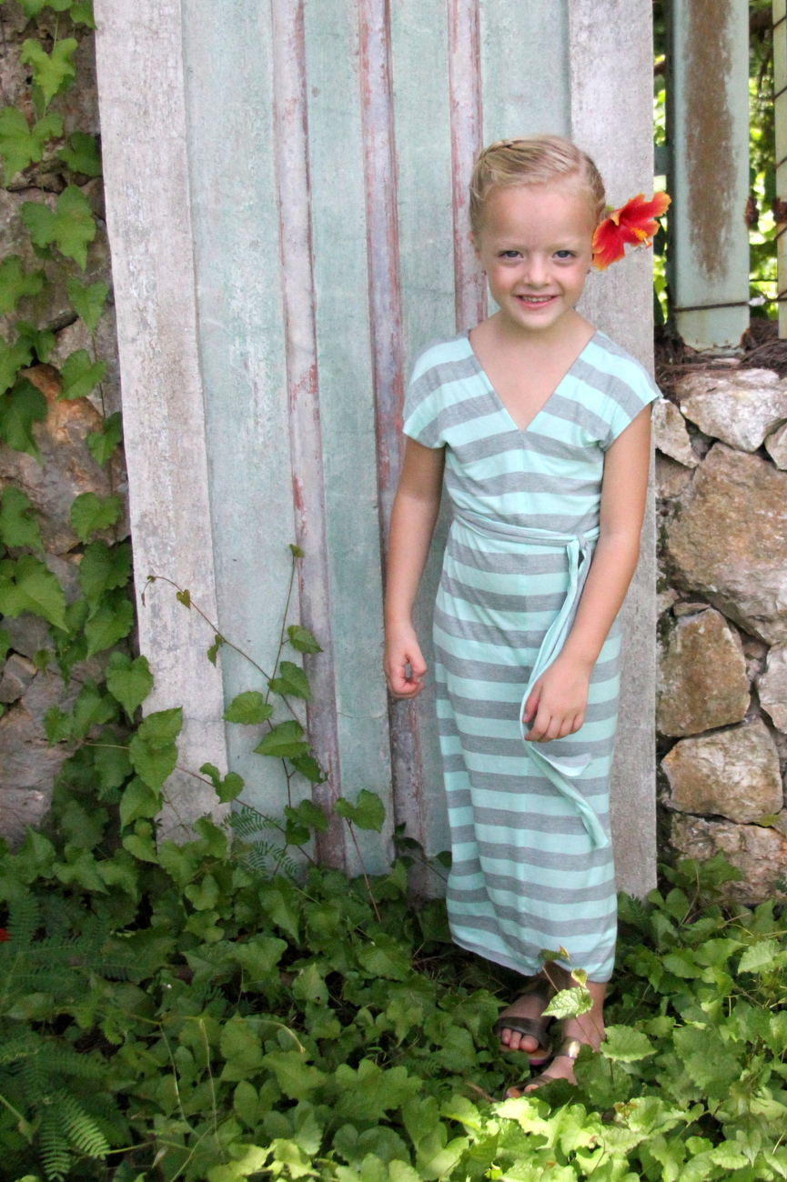Summer jersey dress pattern