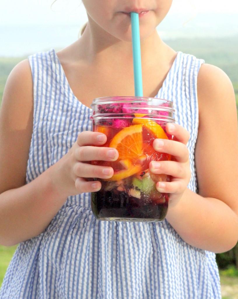 Summer's best sips- rainbow fruit layered lemonade (so fun, and yet SO easy!)